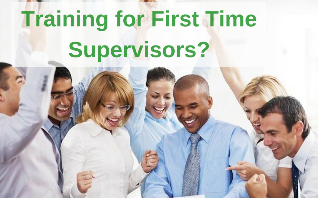 How Important is Training for First Time Supervisor?