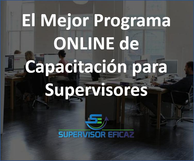 Capacitación supervisores y managers en español