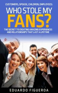 who stole my fans - customer service book