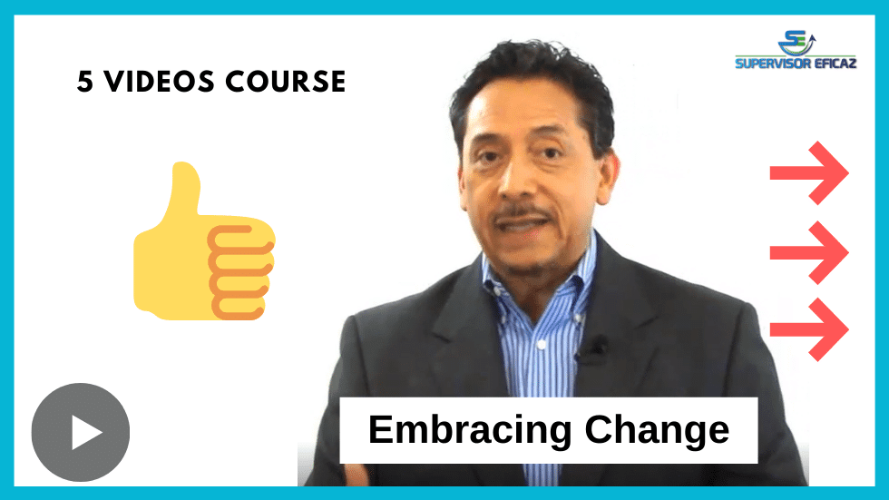 Embracing change - online supervisory free mini course