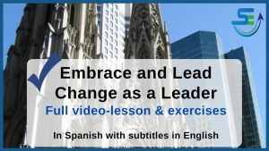 Embrace and lead change - supervisory skills
