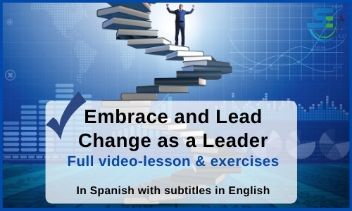 Embrace and lead change - effective supervisor
