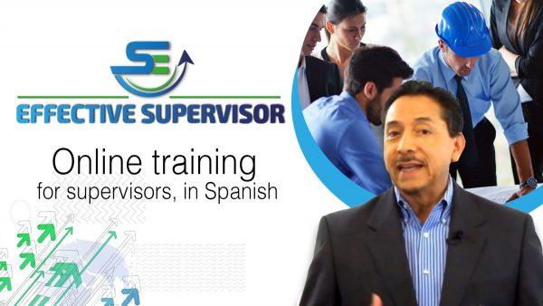 Effective Supervisor Online Training