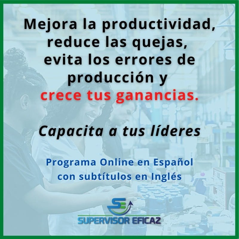 effective supervisor - online program in Spanish