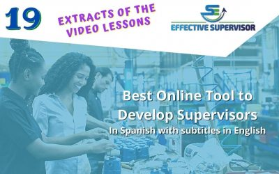 Become an effective supervisor