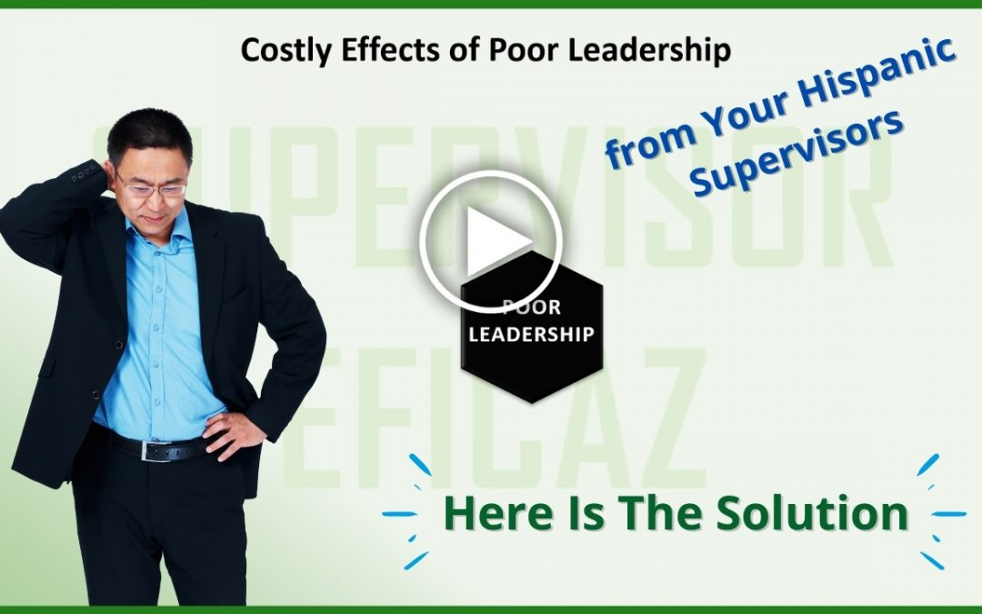 Costly effects of poor leadership